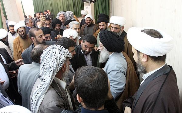 ديدار مردم شهرستان كارون با آیت الله موسوی جزایری
